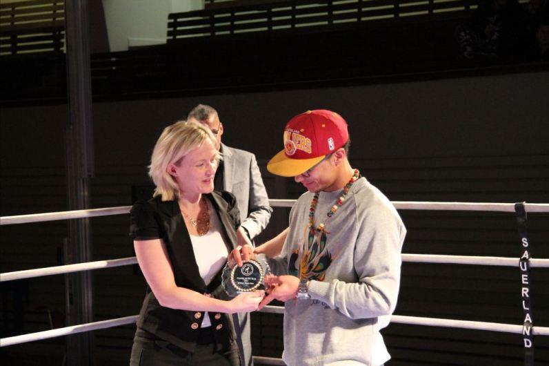 Fighter of the Year 2012 Julian Bengtsen