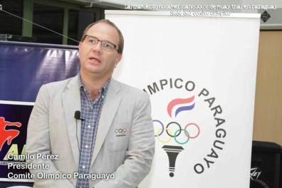 presidente comite olimpico paraguay