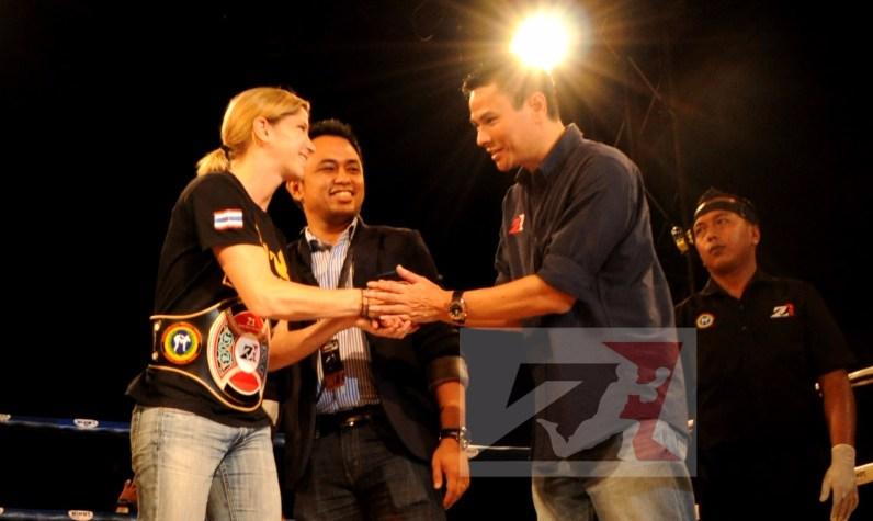 6. Z1 Female Champion, 56kg,Miriam Muay Farang