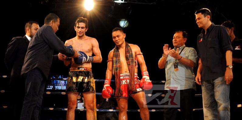 7.vahid Shahbazi vs Saenchai for Z1 WMC World Champion Title, 63.5 kg