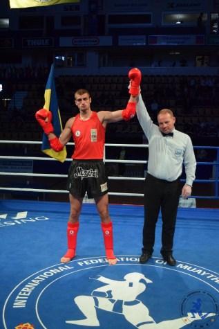 Pryimachov Oleh - Ukraine - 91kg !! #ifmamuaythai 🌟