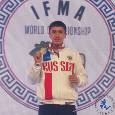Kholmurod Rakhimov - World Champion 2018