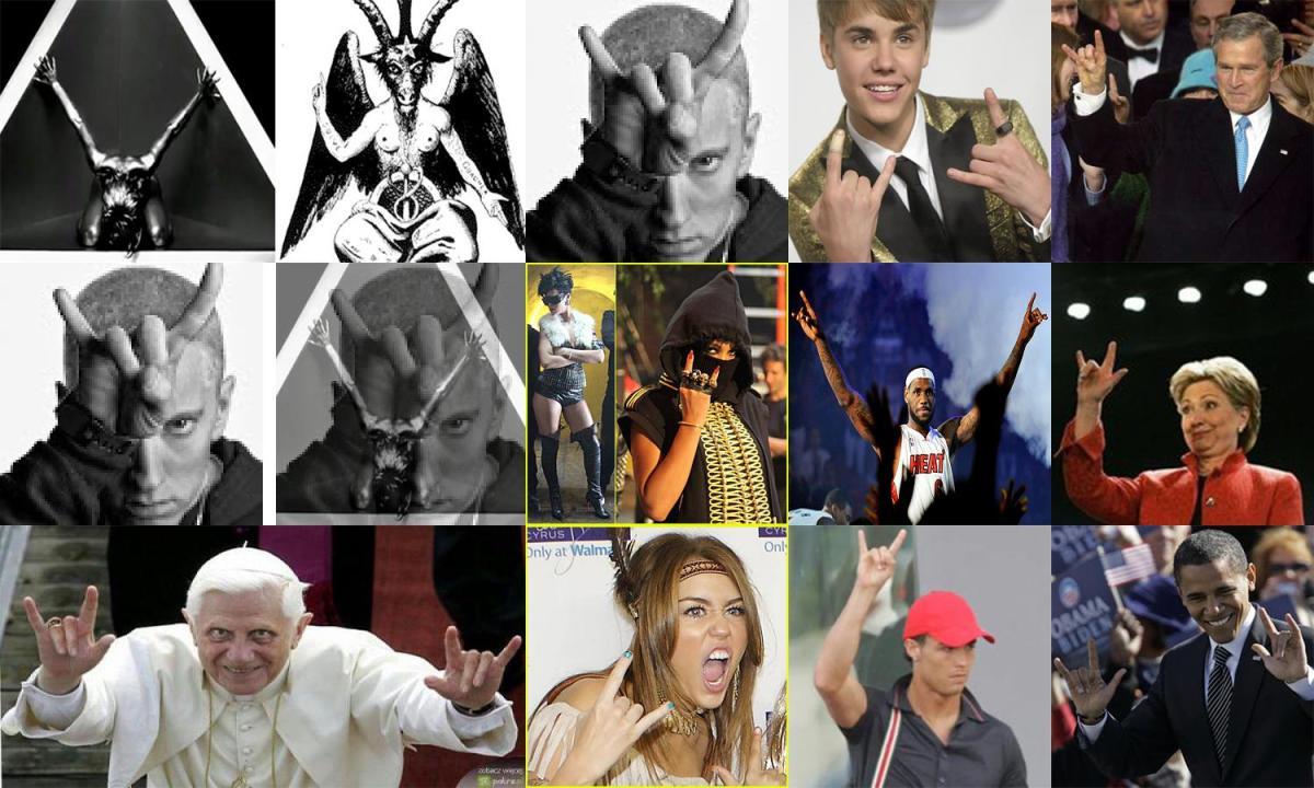 مشهور ترین شیطان پرستان دنیا کی ها اند