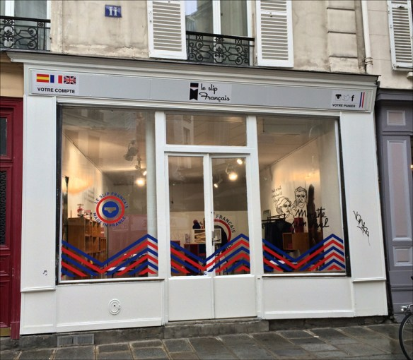 The pop-up boutique, rue Dellebeyme; Cynthia Rose