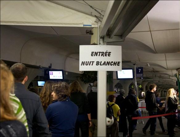 Entry, Gare d'Austerlitz; pic: Steve Sampson