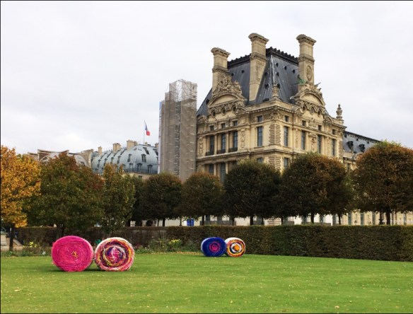 Art week (Fiac) in the Tuileries; pic: Cynthia Rose