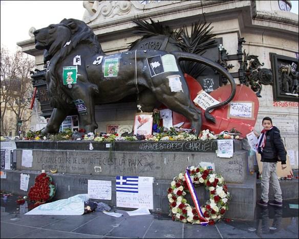 Place de la République; pic: Steve Sampson