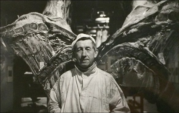 1981, Butcher as butterfly © Jean-Phillippe Charbonnier/MAM Paris