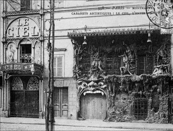 The Cabaret de l'Enfer, contemporary postcard