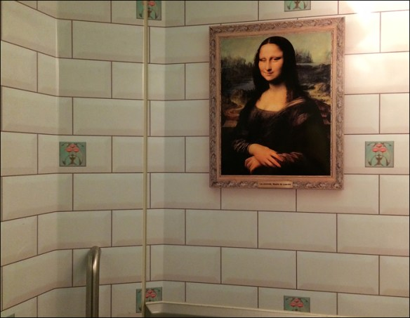 Eurostar: unisex bathroom; pic: Cynthia Rose