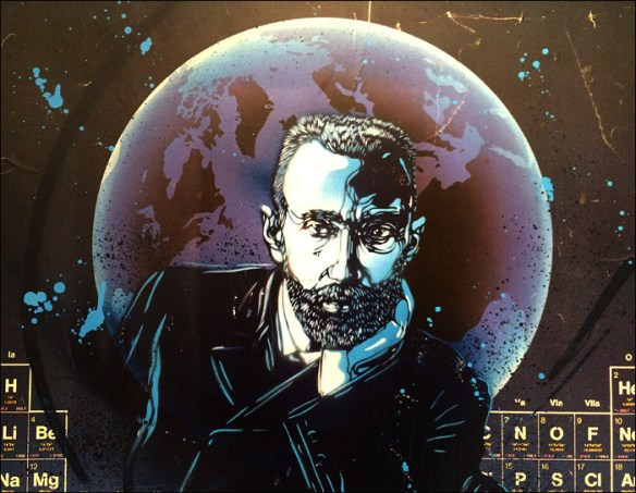 Pierre Curie by C215 © Christian Guémy