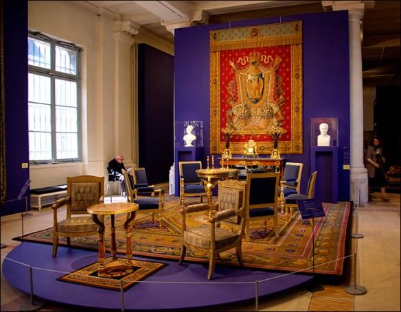 Napoleon's salon, Manufacture des Gobelins; pic: Steve Sampson