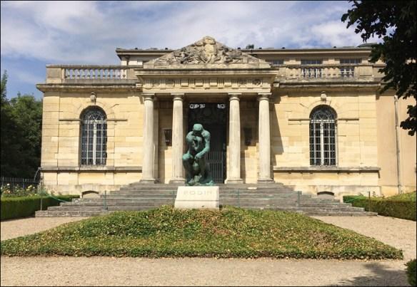 Rodin's grave at the Villa; pic: Cynthia Rose