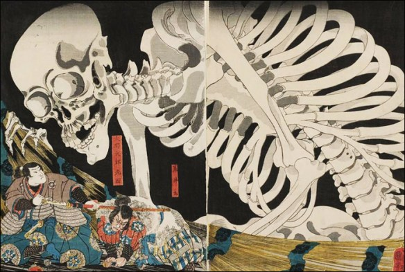 "Detail from ""Princess Takiyasha Calls Up the Skeleton Spectre © Utagawa Kuniyoshi/Petit Palais"