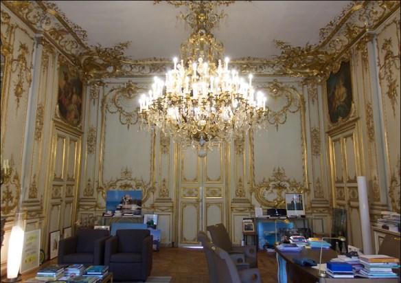 The office of Ségolene Royal (Minister of Ecology) at L'Hôtel de Roquelaure; pic: Steve Sampson