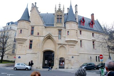 Hotel de Sens was an important residence from the Middle Ages