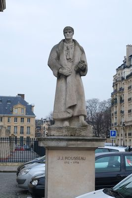 Jean-Jacques Rousseau was one whose ideas on the revolution had such impact that he is buried at the Pantheon.