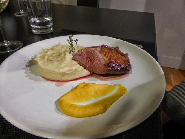 Canard we prepared at La Cuisine