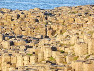Basalt crystals at Giant's Causeway