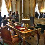 French Prime Minister's desk, Hôtel Matignon, Paris