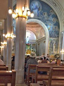 Chapel, Notre Dame de la Médaille Miraculeuse - the Assumption of Mary