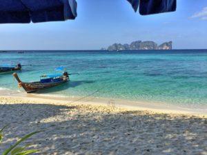The beach at Ko Phi Phi