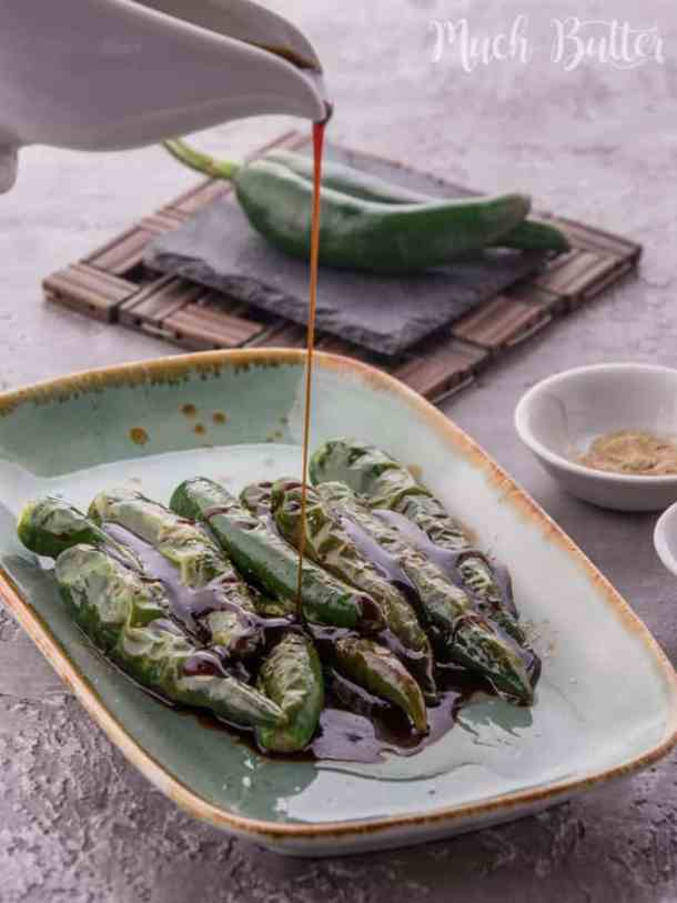 Green Chili with Sweet Soy Sauce