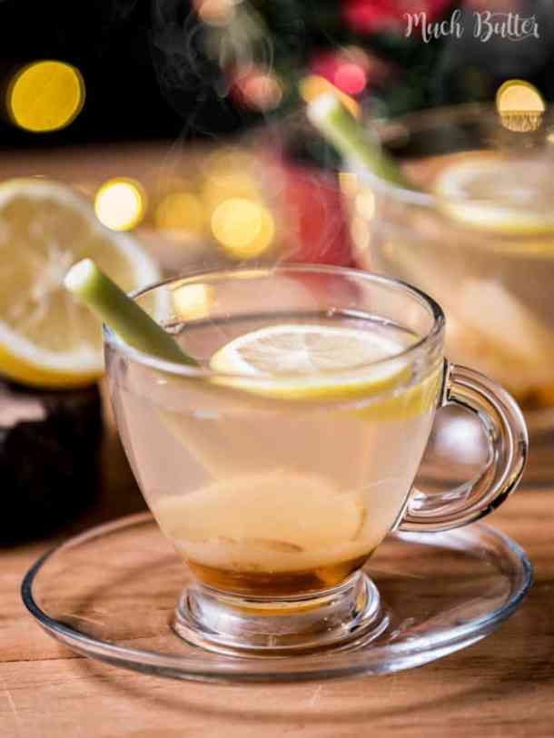 Honey lemongrass ginger tea are perfect for winter, cold weather or rainy seasons! Not only taste really good, but also many health benefits for you.