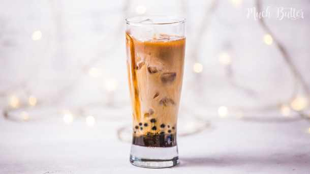 Are you a coffee lover? Want drink coffee milk with chewy texture in it? You can trying this recipe at home. Try this simple boba pearl coffee milk, which is consist of coffee, milk, and boba pearls in it.