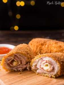 Chicken cordon bleu is classic chicken recipe and famous all over the world. And actually it's very simple and easy to make. It's not as complicated as it seems.