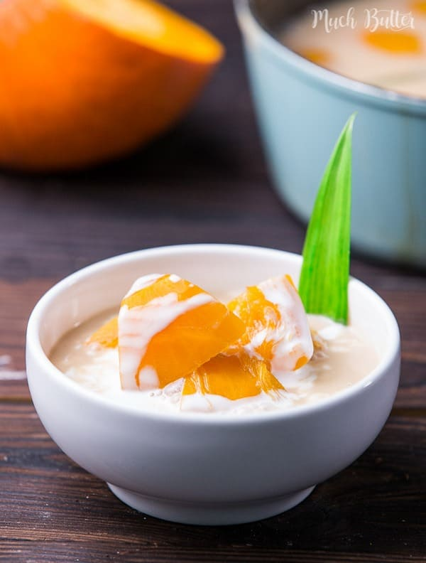 Sweet pumpkin coconut soup is one of the best comforting soup that my mom ever made. Sweet, creamy, and warm. Perfect for fall seasons. It's healthy and vegan.