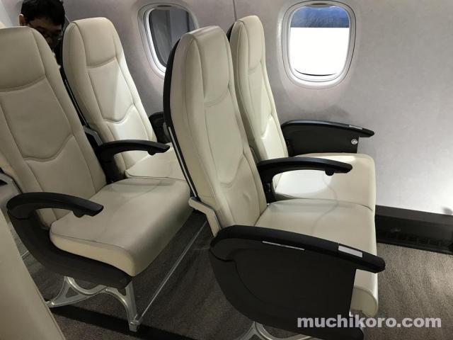 MRJ エコノミークラス 座席