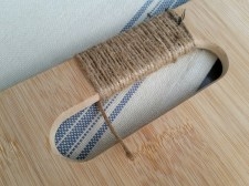 """Keep wrapping - when you get to the end of the jute """"DON'T WORRY"""""""