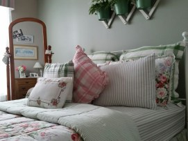 Close up of pretty pillows