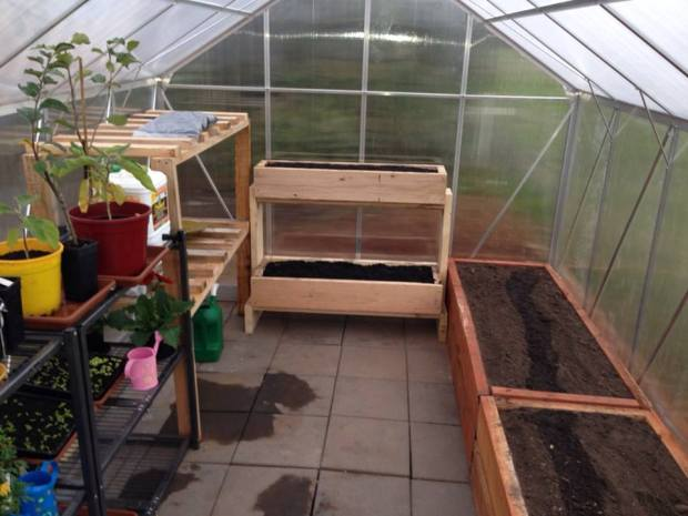 Greenhouse - initial fitting