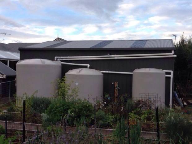 Water tanks Garage at 18kl