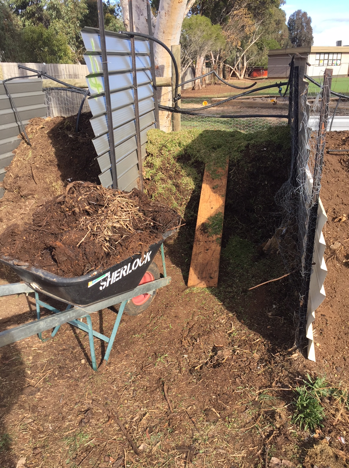 Compost – pile it on