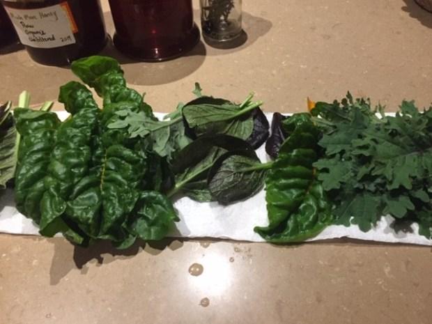 Veg upd - greens