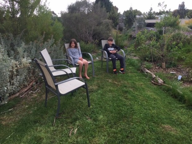 Seating - secret garden