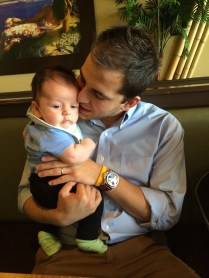 Stealing dad away for lunch
