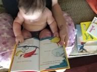 Loves his Dr. Seuss