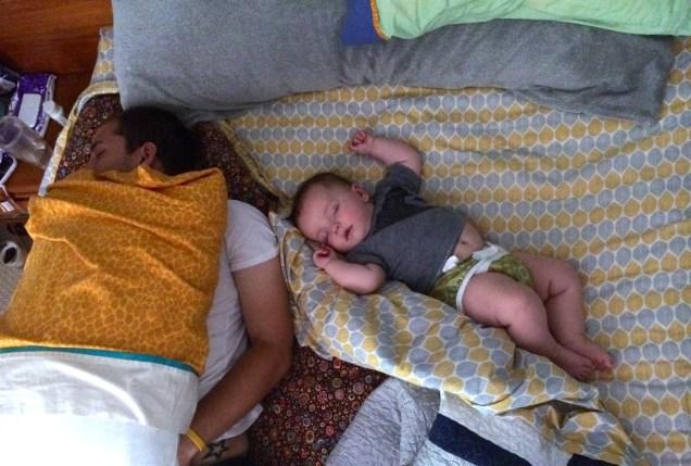Crazy sleeping positions