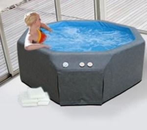 Splash Pools Portable Soft Sided Insulated Hot Tub