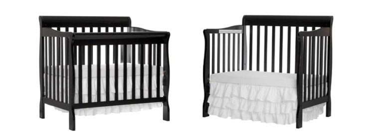 Dream On Me Aden Convertible Mini Baby Crib