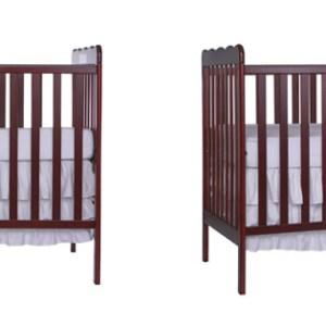 2 in 1 Convertible Mini Baby Crib