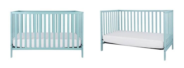 Convertible Mini Baby Crib