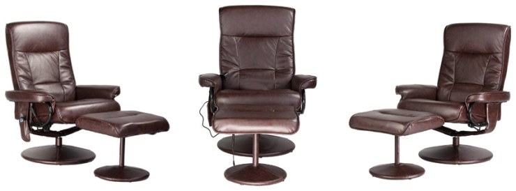Relaxzen Recliner Chair with Massage and Heat