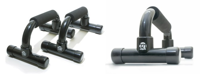 Push up bars with Ergonomic angle
