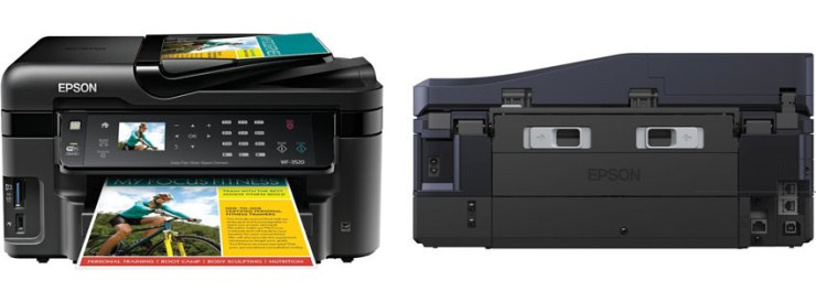 Epson WorkForce WF Wireless All in One Color Inkjet Printer