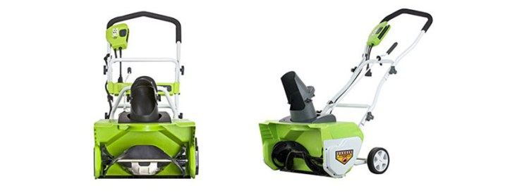 GreenWorks Amp Snow Thrower